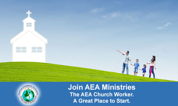 Join the AEA as a Church Worker