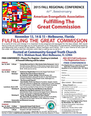 Click Here for 2015 AEA FL Conference Registration Form