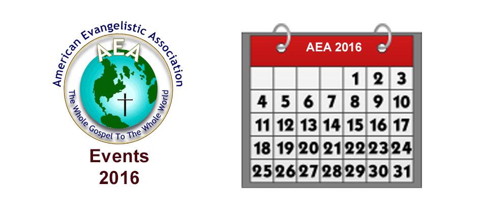 AEA Events 2016